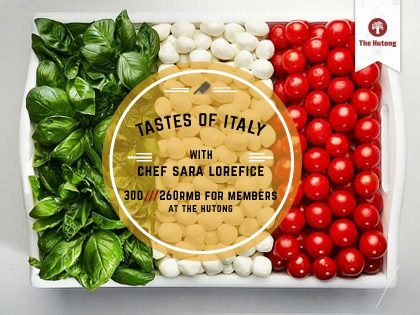 Tastes of Italy – North to South: Everyday Italian Flavours