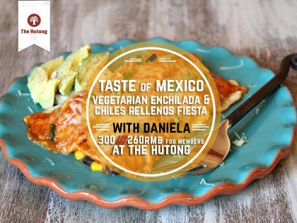 Taste of Mexico – Vegetarian Enchilada and Chiles Rellenos Fiesta