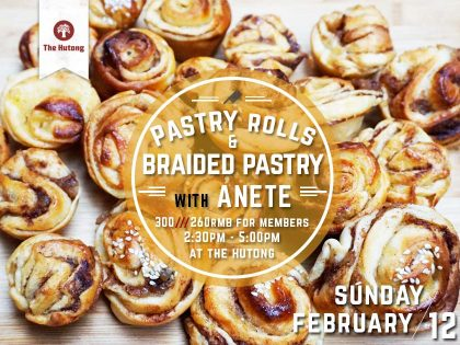Pastry Rolls and Braided Pastry