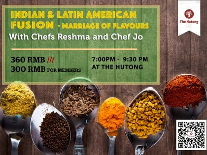Indian and Latin American Fusion Cooking Class – Marriage of Flavours