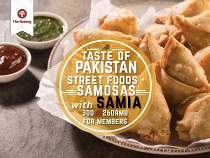 Taste of Pakistan – Streets Foods – Samosas