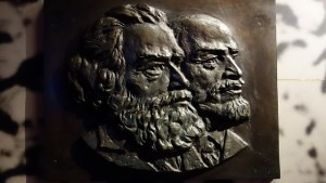 Images of Marx and Lenin in today's Shanghai