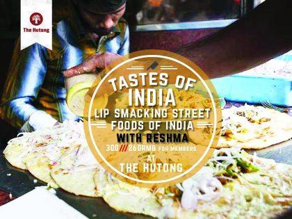 Tastes of India: Lip Smacking Street Foods of India