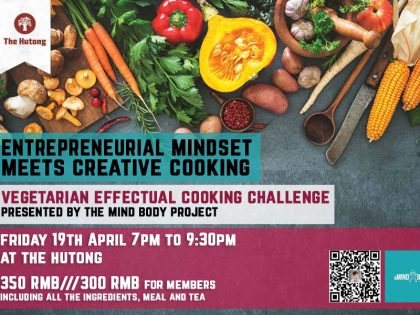Entrepreneurial Mindset Meets Creative Cooking : Vegetarian Effectual Cooking Challenge
