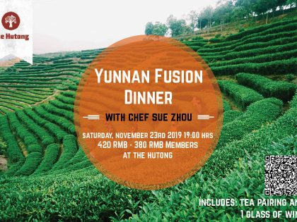 The Hutong Yunnan Fusion Dinner with Chef Sue Zhou