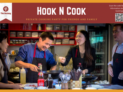 Hook n Cook – Private Cooking Party