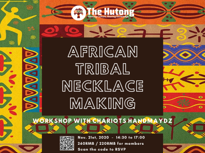 Hand in Hand with Africa Tribal Rope Necklaces Making Workshop with Chariots Handmaydz