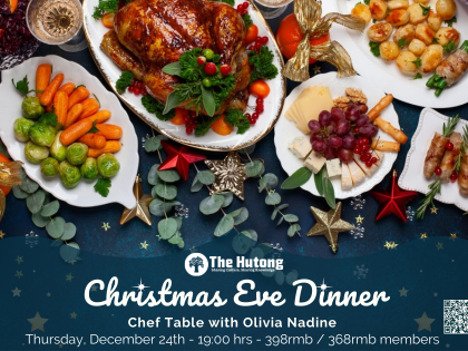 Christmas Dinner Chef Table with Olivia
