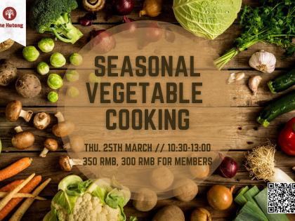 Chinese Seasonal Vegetable Cooking