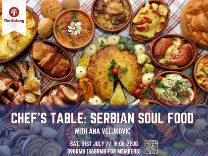 Chef's table: Serbian Soul Food with Ana Veljkovic