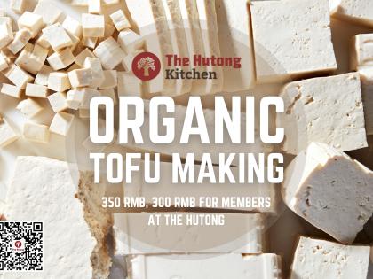 Homemade Organic Tofu