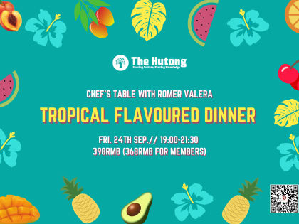 Tropical Flavoured Dinner