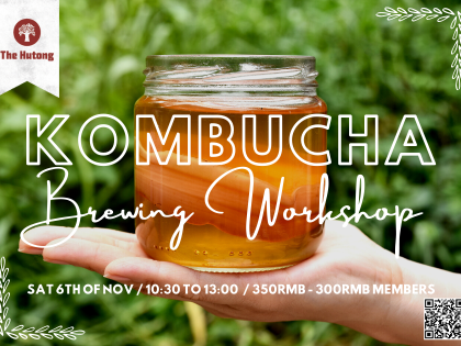 SCOBY-DOO: Kombucha Brewing Workshop with Isilay